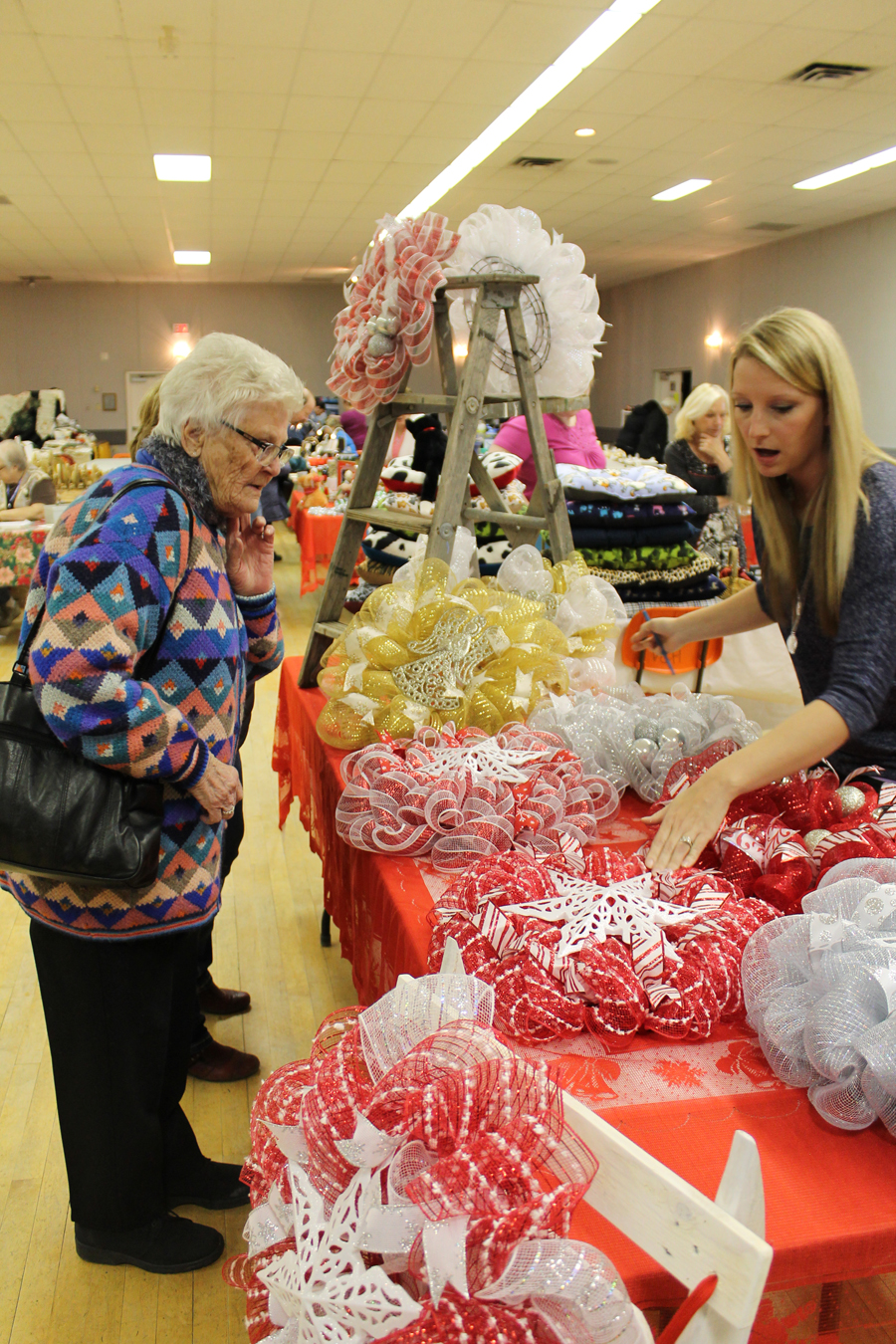 Viking Christmas Market-Ribbon Wreaths