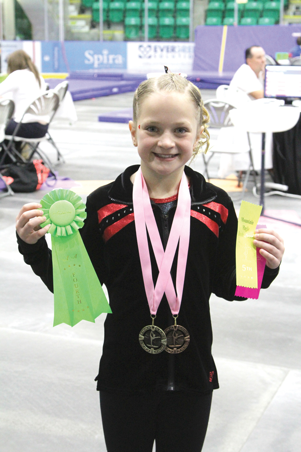 Gymnastics-Jorja ribbons