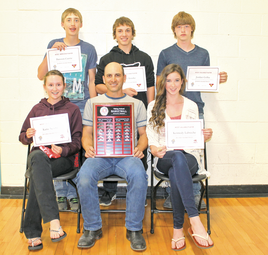 Sports Awards-Jr Basketball