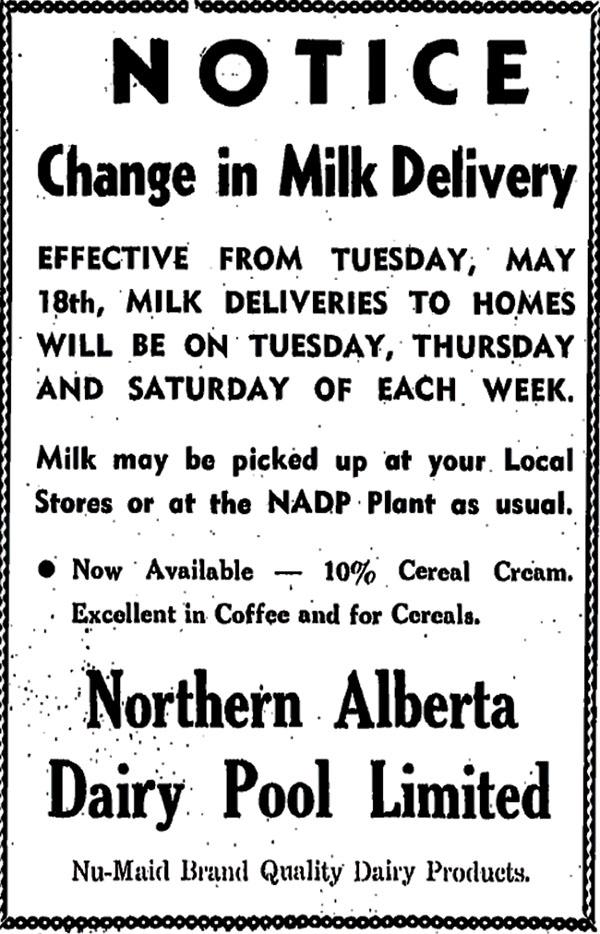 Milk delivery notice Aug16-16